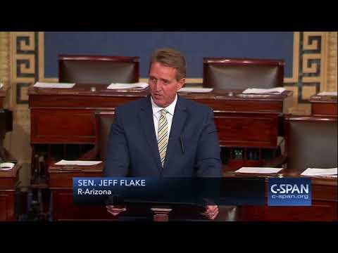 Xxx Mp4 Sen Jeff Flake Condemns President Trump S Attacks On Media FULL SPEECH C SPAN 3gp Sex