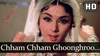 pc mobile Download Chham Chham Ghungroo (HD) - Kaajal Songs - Meena Kumari - Raj Kumar - Asha Bhosle