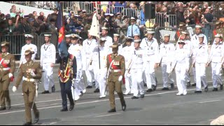 Bastille Day Parade held in Paris