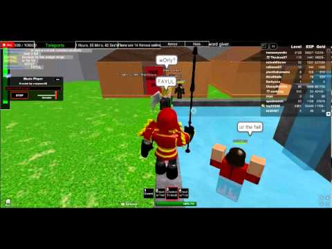 the most noobish guy on ROBLOX(could be) idk