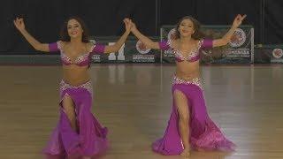 Anastasia Vilkova and Arina Kislukhina - Belly Dance Championship 2017