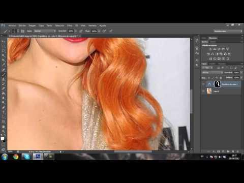 Aprende a usar PhotoShop Episodio 9 Cambiar color del pelo