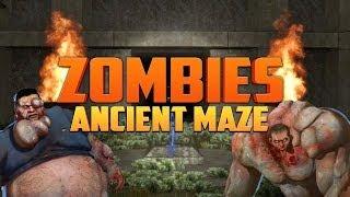 ANCIENT ZOMBIE MAZE [Part 3] ★ Left 4 Dead 2 (L4D2 Zombie Games)