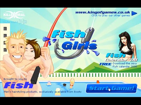 Fish For Girls - Let's Play Fishing For Girls - Game Begins Now