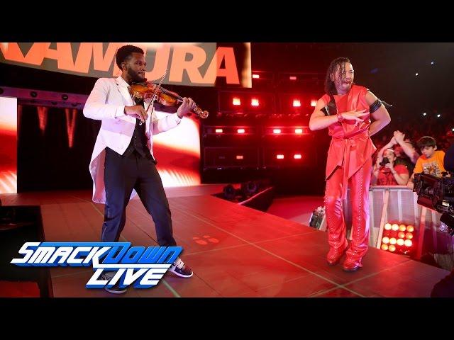 Two-time NXT Champion Shinsuke Nakamura debuts on SmackDown LIVE: SmackDown LIVE, April 4, 2017