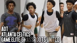 3 TOP AAU PROGRAMS & 1 GYM!! Grassroots United ft. Ashton Hagans, Sharife Cooper, BJ Boston & More!!