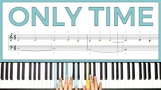 How to play 'ONLY TIME' by Enya on the piano -- Playground Sessions