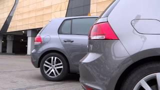 Volkswagen Golf VII vs Volkswagen Golf VI cars and colors comparison | FULL HD 1080p