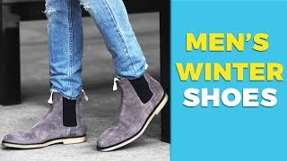6 Types of Shoes Every Guy Needs this Winter | Best Winter Shoes | Alex Costa
