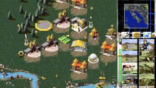 CnCNet C&C Red Alert   random multiplayer game 4