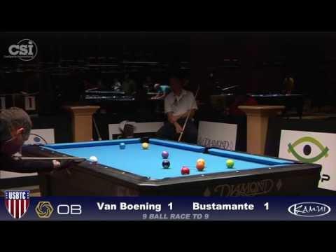 2015 USBTC 9 Ball Shane Van Boening vs Joven Bustamante