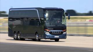 Mercedes-Benz Commercial Vehicles - Campus Safety - Buses Setra | AutoMotoTV