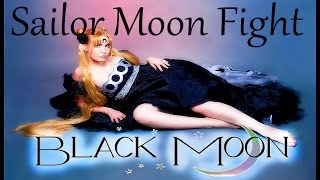 Sailor Moon - Fight Black Serenity and White