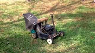 Home made mini riding mower 5.5 HP
