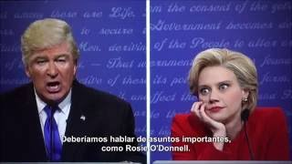 Saturday Night Live - Primer Debate Presidencial con Subtitulos