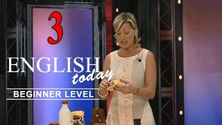 Learn English Conversation - English Today Beginner Level 3 - DVD 3