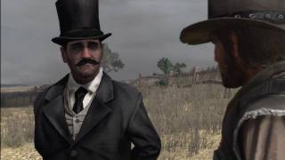 Red Dead Redemption: I Know You Mini Stranger Mission: Unknown Guy Is a Ghost/God/Death/Other?
