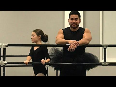 Xxx Mp4 Dad Wears Daughter S Tutu And Leotards To Ballet Class 3gp Sex