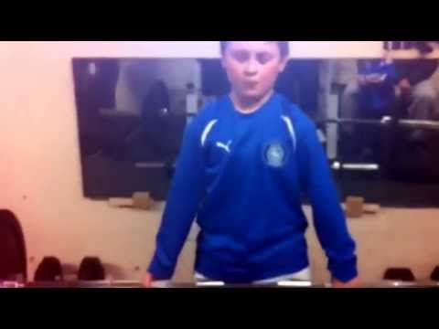 10 year old lifting 95kg