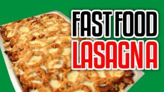 Fast Food Lasagna - Epic Meal Time