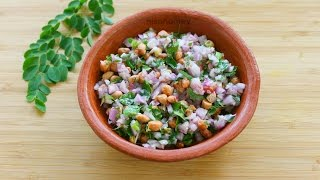 The BEST Moringa Peanut Salad/Chaat For Weight Loss - Fat Cutter Snack For Summer - Skinny Recipes