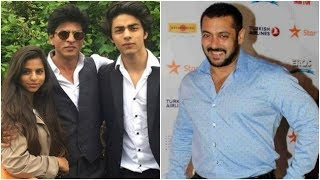 Salman gifts SRK's children Aryan & Suhana something very special