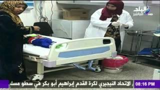 صدى البلد |  الاهمال الطبي يضرب مستشفي الاطفال الجامعي التخصصي ( أبو الريش الياباني )