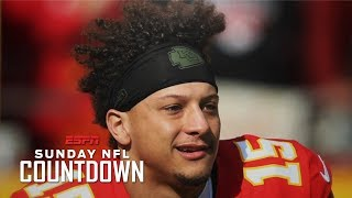 Patrick Mahomes is blazing the trail with his unique haircut   NFL Countdown