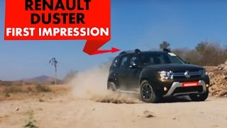 2016 Renault Duster Easy R + AWD : First Drive : PowerDrift