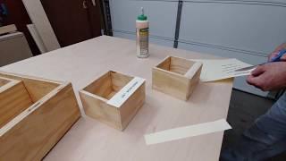 Small Plywood Box Label Idea (semi-permanent)