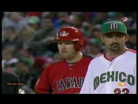 ¿Por que inicio la pelea entre Mexico vs Canada Beisbol 2013