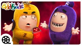 The Mystery Of The Evil Eggplant | Oddbods | Spooky Cartoons For Children | The Oddbods Show