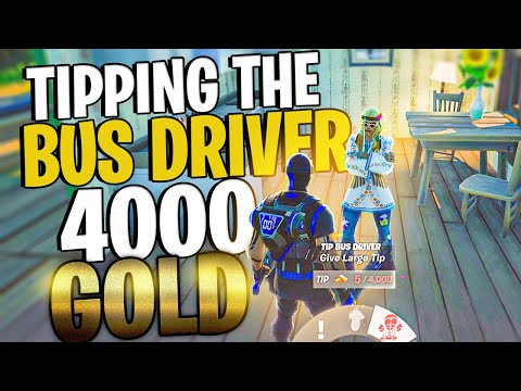 How To Get A SECRET Message In The Kill Feed What Happens When You TIP THE BUS DRIVER 4000 Gold