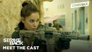 Meet the New Team: Captain Natalie Reynolds | Strike Back | Cinemax