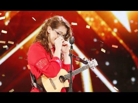 Xxx Mp4 Mandy Harvey Deaf Singer With Original TRY Gets Simon S GOLDEN BUZZER America S Got Talent 2017 3gp Sex