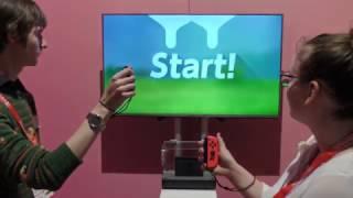 Nintendo Switch - Milking Cows | hands-on presentation (2017) 1-2-Switch