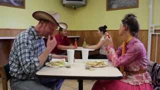 Cosmic Cowboy Date Scene