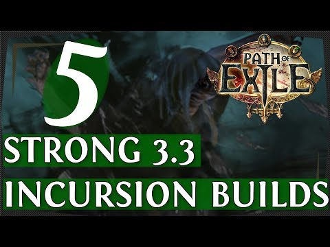 Xxx Mp4 PoE 3 3 Another 5 Strong Build Guides For Incursion Flashback League Path Of Exile 2018 3gp Sex