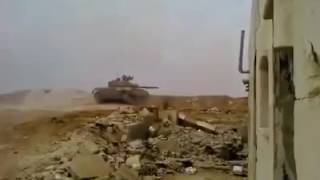 SAA Tank Escapes TOW Missile