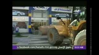 """بالفيديو .. حملة إزالة بحي شرق مدينة نصر """"عمارات شرارة"""""""