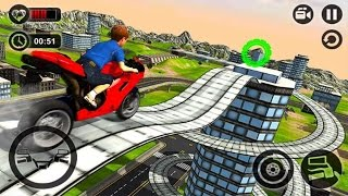 Kids MotorBike Stunt Rider 3D - Android GamePlay 2017