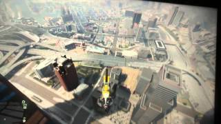 Jumping off a clif in gta5