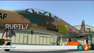 Iran: Rouhani unveils Tehran's first domestic fighter jet