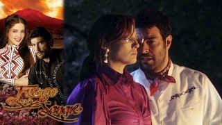 ¡Franco y Sarita se casan! | Fuego en la sangre - Televisa