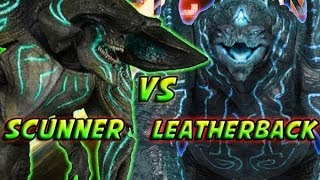 Pacific Rim - What If Battle - Scunner Vs Leatherback
