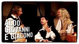 Il conte Dracula (seconda parte) - Tre uomini e una gamba di Aldo Giovanni e Giacomo