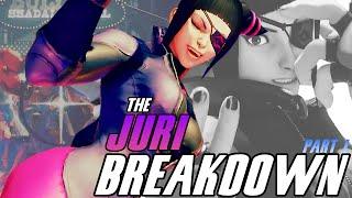 Street Fighter V | The Juri Breakdown [Part 1 of 3] Juri's Censorship!