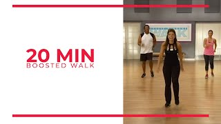 20 Minute Boosted Walk | Walk at Home