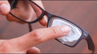 مدهش حقا.. قم بتمرير هذا على عدسات نظارتك و أزل كل الخدوش بسهولة !