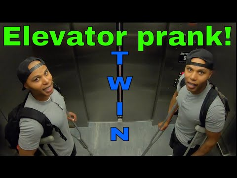 Elevator Prank Twin Television